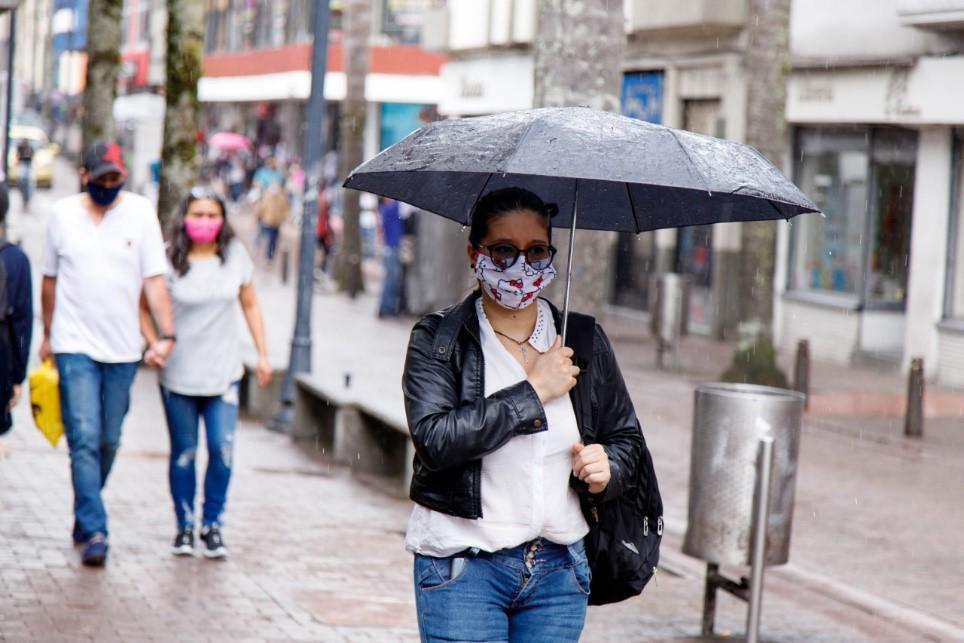 Nivel de lluvias en Manizales se ha mantenido estable en los últimos días